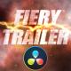 Fire and Smoke - Cinematic Trailer - DaVinci Resolve - VideoHive Item for Sale