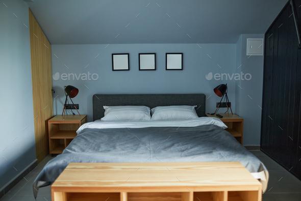 Cozy Bedroom Interior - Stock Photo - Images