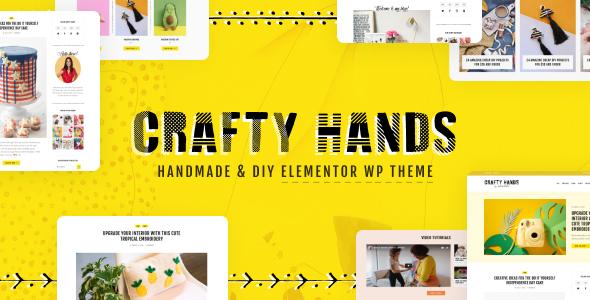 Crafty Hands - Arts & Workshop WordPress Theme