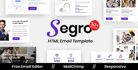 Segro Agency - Multipurpose Responsive Email Template