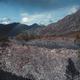 Mountain scenery, human silhouette - PhotoDune Item for Sale