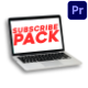 Subscribe Pack | Premiere Pro MOGRT - VideoHive Item for Sale