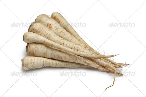 Fresh parsley roots - Stock Photo - Images