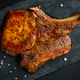 Grilled piece of pork with bone - PhotoDune Item for Sale