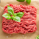 Minced meat with spices on table - PhotoDune Item for Sale