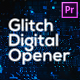Glitch Technology Opener for Premiere Pro - VideoHive Item for Sale