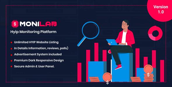 Download MoniLab – HYIP Monitoring Platform Free Nulled