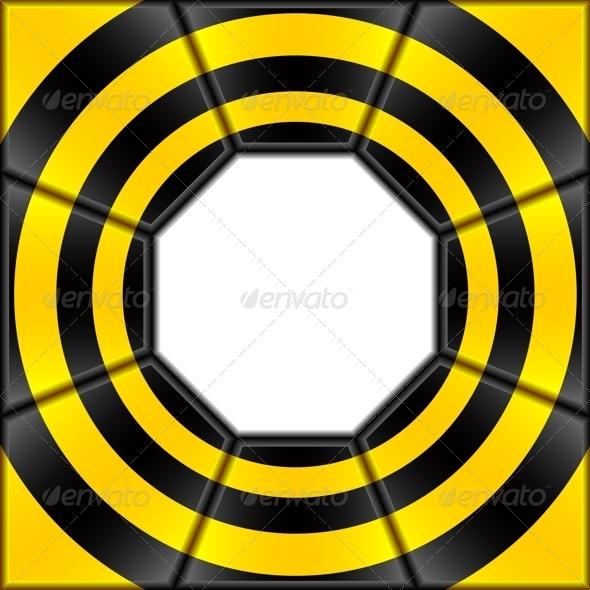 Octagon. - Backgrounds Decorative