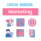 75 Traditional Marketing Icons