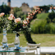 Wedding ceremony on the street on the green lawn near the Nesvizh Castle.Belarus - PhotoDune Item for Sale