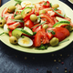 Salad with vegetables, olives, eggs and rosemary - PhotoDune Item for Sale