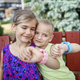 Kids using smartwatches with interest, care and parents control, new technology for children - PhotoDune Item for Sale