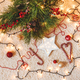 Top view of christmas flat lay home. - PhotoDune Item for Sale