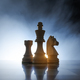 Chess pieces on the chessboard - PhotoDune Item for Sale