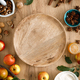 Culinary background. Cooking Thanksgiving autumn apple pie - PhotoDune Item for Sale