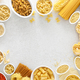 Pasta. Various kinds of uncooked pasta - PhotoDune Item for Sale