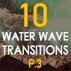 Water Wave Transitions Pack 3 - VideoHive Item for Sale