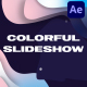 Colorful Liquid Slideshow | After Effects - VideoHive Item for Sale