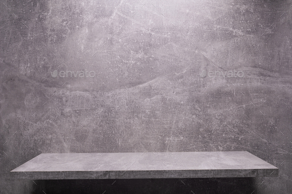 Abstract painted background texture and shelf at wall. Book shelf at  wall background - Stock Photo - Images