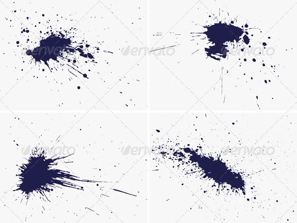 Grunge design elements, vector - Abstract Conceptual