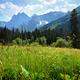 Summer landscape in mountains, North Caucasus, Russia - PhotoDune Item for Sale