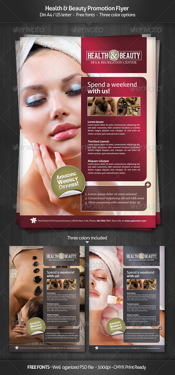 Health & Beauty - Promotion Flyer - Commerce Flyers