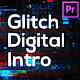 Glitch Technology Intro for Premiere Pro - VideoHive Item for Sale