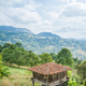 """Granary of Asturias raised by pillars and known as """"horreo"""" - PhotoDune Item for Sale"""