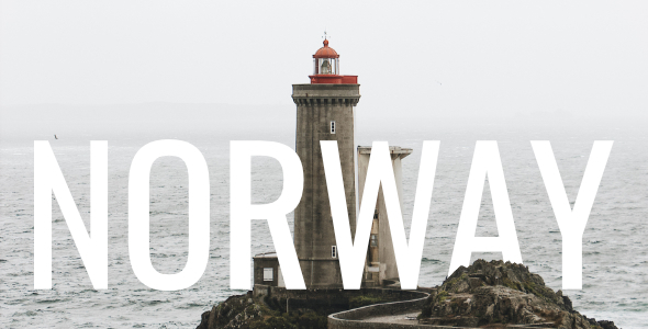 Marvelous Norway - Minimal Travel Blog WordPress Theme