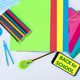Back to school - pencils, notebooks, scissors, and accessories - education concept - - PhotoDune Item for Sale
