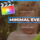 Minimal Event - VideoHive Item for Sale