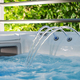 Hot Tub Jacuzzi Fountain and Skimmer Close Up - PhotoDune Item for Sale