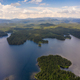 Aerial view of picturesque lake - PhotoDune Item for Sale