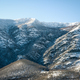 Snowy north slope of a mountain range - PhotoDune Item for Sale