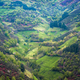 The zigzagging basin of a valley covered with grasslands - PhotoDune Item for Sale
