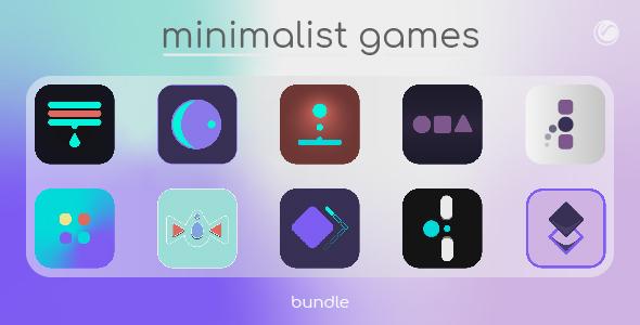 Minimalist Games Bundle 1 | HTML5 • Construct Games
