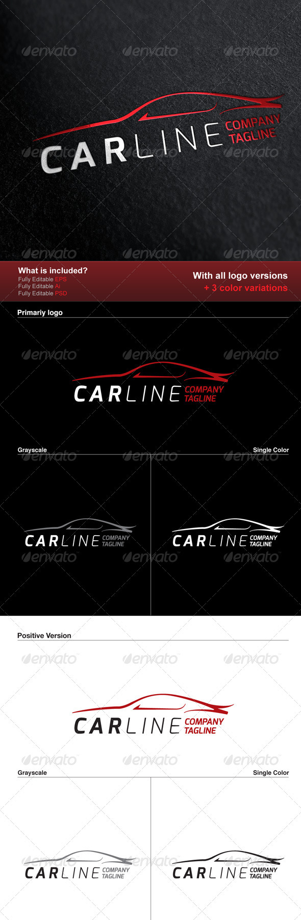 Car Line Logo - Logo Templates