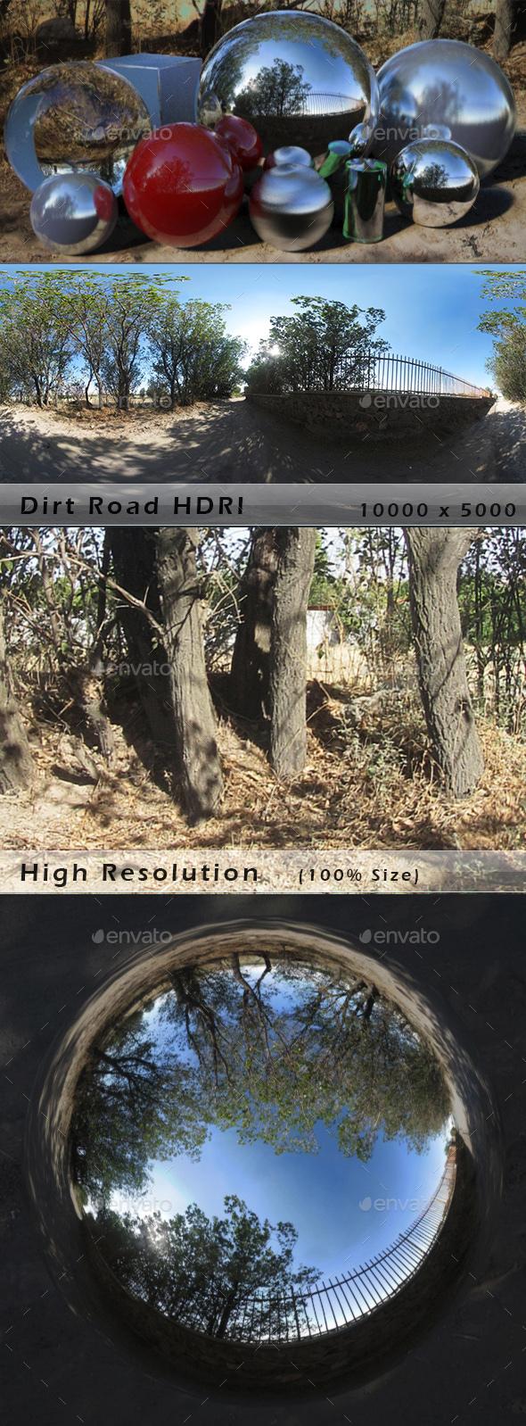 Dirt Road HDRI