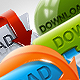 HQ Download Buttons - GraphicRiver Item for Sale