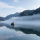 beautiful the little Dongjiang River landscape in early morning - PhotoDune Item for Sale