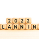 2022 Planning word in wooden blocks on table - PhotoDune Item for Sale