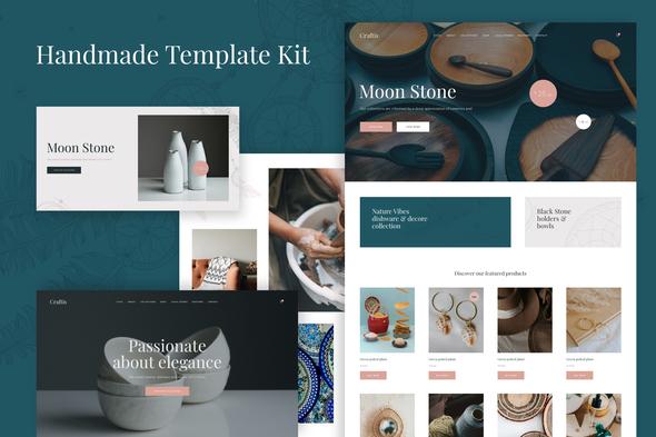 Craftis - Handcraft & Artisan Elementor Template Kit