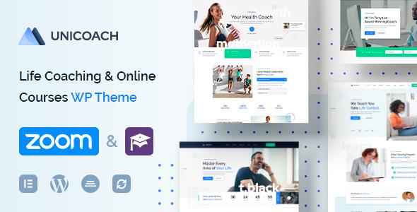 UniCoach - Multipurpose UpSkill WordPress Theme