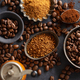 Coffee concept with coffee beans and sugar - PhotoDune Item for Sale