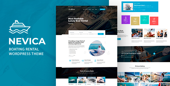 Download Nevica – Boats Rental Theme Free Nulled