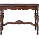 An antique Victorian style sofa table isolated on a white background - PhotoDune Item for Sale