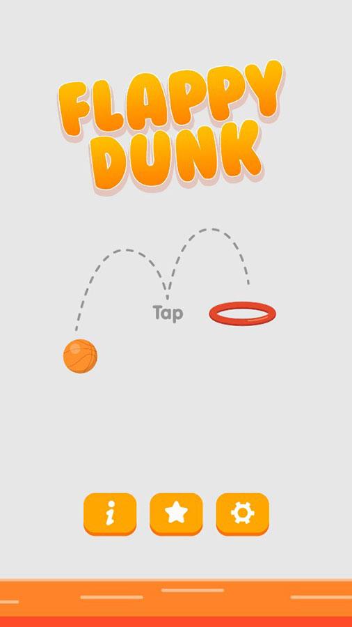 Flappy Dunk (Admob + GDPR + Unity)