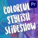 Colorful Stylish Slideshow | Premiere Pro MOGRT - VideoHive Item for Sale