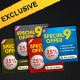 Standard Web Ads - Banners - GraphicRiver Item for Sale