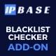 Blacklist Checker Addon for IP Base